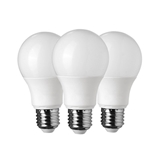 Show details for LED Plastic Bulb (set of 3 Pieces) Pack E27 A65 15w~120w