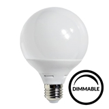 Show details for LED Bulb E27 G95 Dimmable 12W