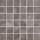 Show details for Glass tiles Gres mosaic himalaya gray 29.7x29.7 (14) / pack
