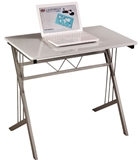 Show details for Single Writing Desk B120 White
