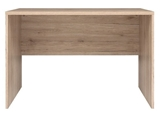 Show details for Office Desk Black Red White Writing Desk Executive I San Remo Oak