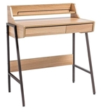 Show details for Single Meble Writing Desk B168 Oak Dark Brown