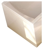 Show details for Bathtub side panel Ravak 70cm, white