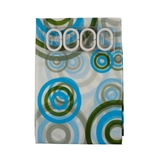 Show details for Click on the image to enlarge it Bath curtain Futura PED-008, 180x180cm