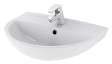 Show details for Washbasin Cersanit Mito Red TK001-004 50x38,4cm, white