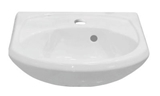 Show details for Sink Keramin Lyder 45,5x35x17,5cm, white