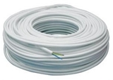 Show details for Verner Cable 2x1.0 OMY White