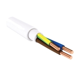 Show details for CABLE XYM-J / NYM 3X2.5 WHITE (100)