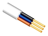 Show details for FLAT CABLE BVV-P 3X2,5 WHITE (10)