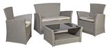 Show details for Home4you Alaska Garden Furniture Set Beige