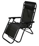 Show details for Besk Garden Chair Black / White