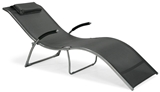 Show details for Home4You Deck Chair Batya Gray