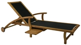 Show details for Home4You Deck Chair Future Black