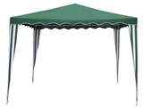 Show details for Besk Foldable Canopy 3x3m Green