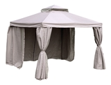 Show details for Home4you Legend Garden Gazebo 3x4m Beige