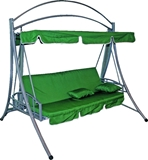Show details for Diana Lux Garden Swings Green