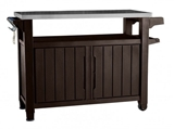 Show details for Keter Barbecue Table Prep n 'Serve 207L Brown