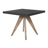 Show details for Home4you Sandstone Garden Table Black