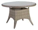 Show details for Home4you Pacific Garden Table 120x75cm Beige