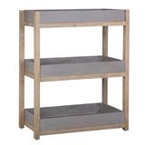 Show details for Home4you Sandstone Shelf 80x35x98cm Gray / Brown