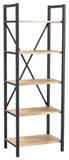 Show details for Signal Meble Loras R2 Storage Shelf 180x60cm Oak