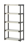 Show details for Stand with 5 shelves Grosfillex XL90 90 x 39 x 175 cm