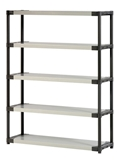 Show details for Stand with 5 shelves Grosfillex XXL135 135 x 39 x 175 cm