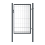 Show details for GATE SINGLE 1000X1530 MM RAL7016 (GARDEN CENTER)