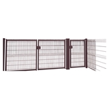 Show details for GATE SINGLE 1000X1730 MM RAL8017 (GARDEN CENTER)