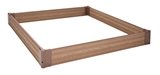 Show details for Home4you Garden Bed 120x120cm Cedar