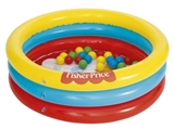 Show details for Bestway Fisher-Price 3-Ring Ball Pit Play Pool 91x25cm