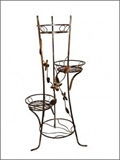 Show details for Flower stand, 55x55x110cm