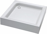 Show details for KOLO Standard Plus Shower Tray 90x90 White