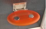 Show details for OVO-P Shower Seat Orange