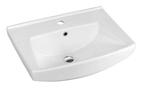 Show details for Ceramic sink Riva 55,5x41,5x20,5cm, white