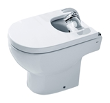 Show details for Bidet Roca Meridian Compact, with Faucet opening