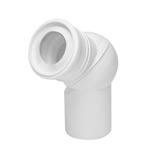 Show details for Adjustable toilet connection Tycner 671 D110mm