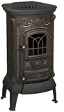 Show details for CAST IRON OVEN VERDO PATINE 9 kW (NORDFLAM)