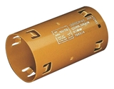 Show details for Drainage double-sided coupling Wavin D80mm, PVC