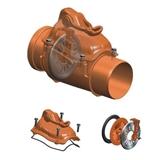 Show details for Check valve external D110 PVC (Magnaplast)