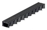 Show details for Channel with plastic grid Aco HexaLine, 1 m