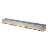 Show details for Channel with zn grille Aco Self Euroline, 1 m