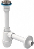 Show details for Ani Plast 1 1/4'' Siphon with Hard Pipe 200mm 32mm
