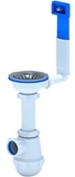 Show details for Ani Plast A0145S Siphon with Vertical Overflow 3 1/2'' 40mm