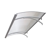 Show details for LAPENE1600X900 CLEAR SHEET ALUM GRAY