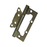 Show details for DOOR HINGE 100X63X2MM AGED BRASS