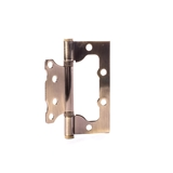 Show details for DOOR HINGE 100X75X2.5MM AGED BRASS