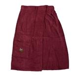 Show details for Bath apron Namu Tekstile, 75x150cm, burgundy