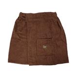 Show details for Bath apron Namu Tekstile, 75x150cm, brown