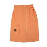 Show details for Bath apron Namu Tekstile 75x150cm, orange